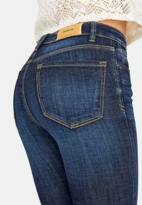 Stradivarius - Jeans Skinny - blue denim