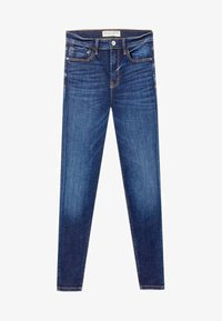 Stradivarius - Jeans Skinny - blue denim - 4
