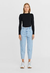 Stradivarius - Relaxed fit jeans - blue - 1