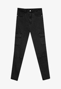 Stradivarius - Jeans Skinny Fit - black - 4