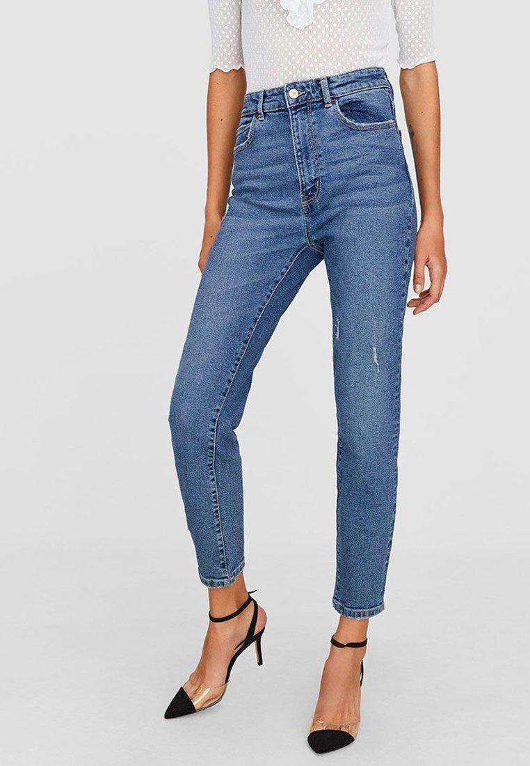 Stradivarius - Slim fit jeans - blue