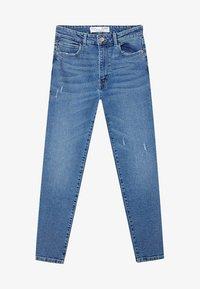 Stradivarius - Slim fit jeans - blue - 4