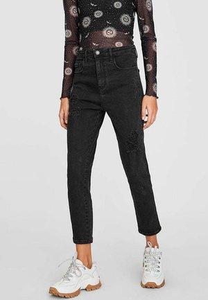 MIT RISSEN  - Jeans a sigaretta - dark grey