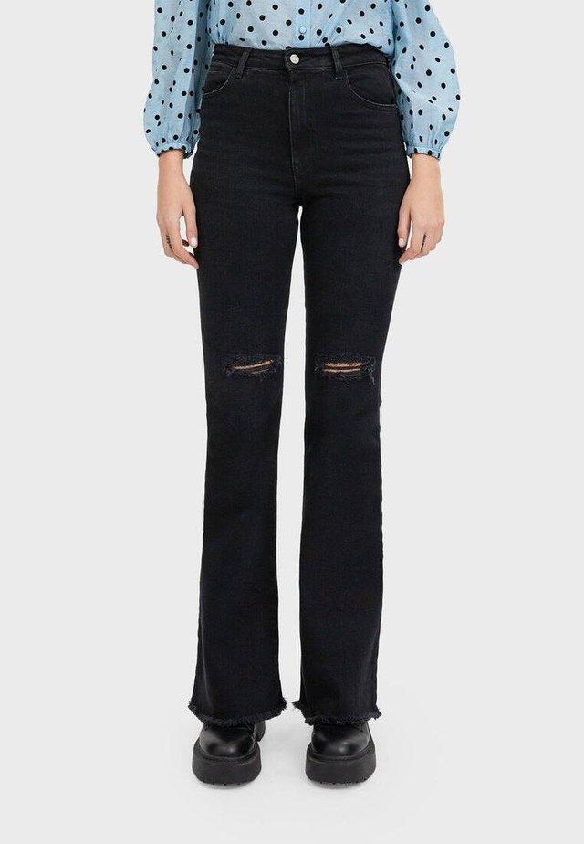 SCHLAGJEANS 04881520 - Jeans a zampa - grey