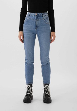 REWORKED MOM  - Jeans Slim Fit - blue denim
