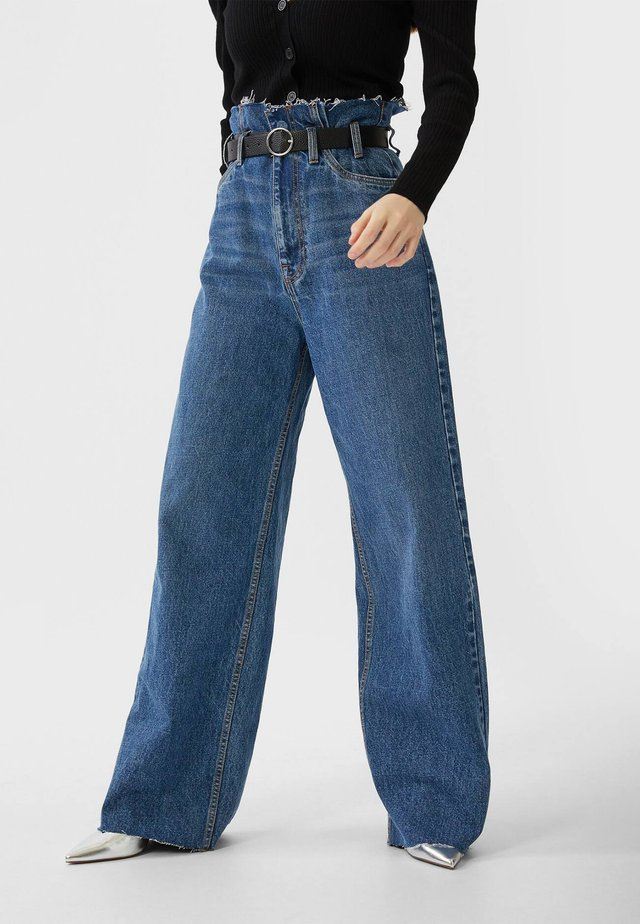 Jeans baggy - dark blue