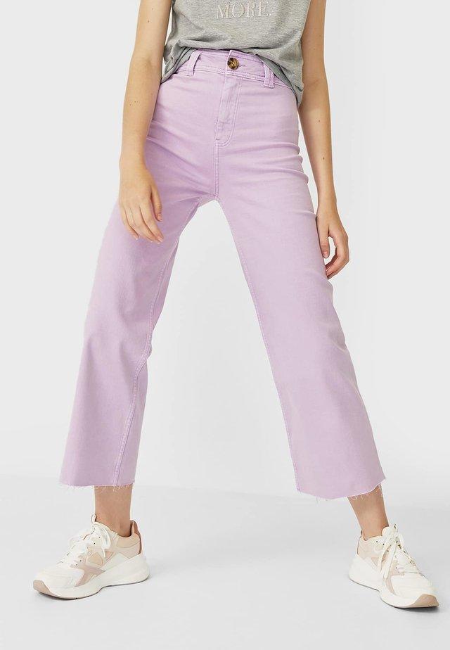 01164693 - Straight leg jeans - mauve