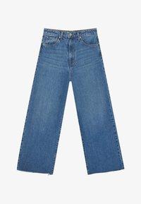 Stradivarius - Flared Jeans - blue denim - 4
