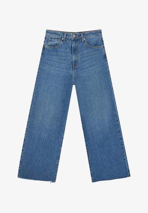 Jean flare - blue denim