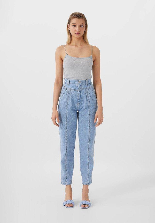 VINTAGELOOK - Jeansy Straight Leg - blue denim