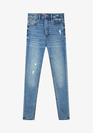Jeansy Skinny Fit - blue