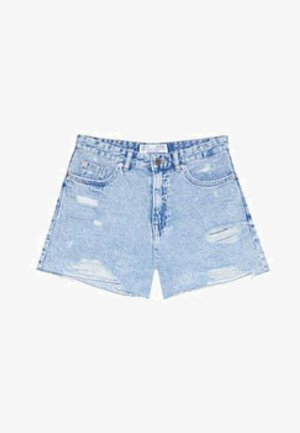 Jeansshort - blue denim