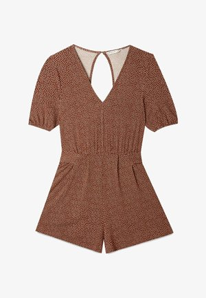 MIT PRINT  - Jumpsuit - brown