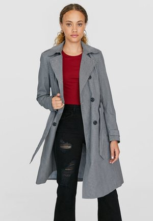 MIT TIERMUSTER  - Trench - grey