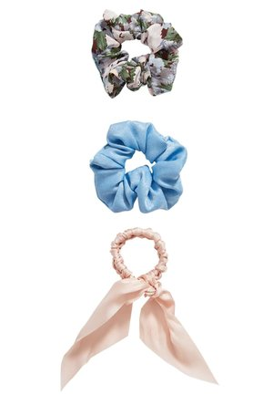 3 SET - Hair styling accessory - blue