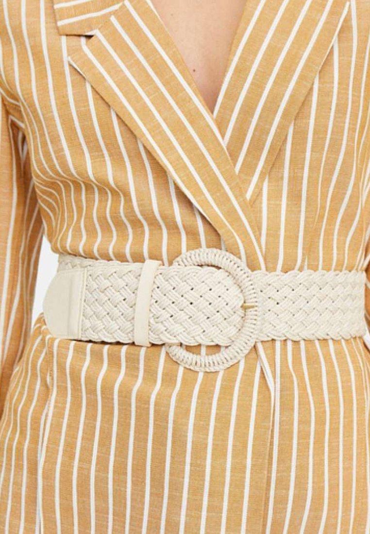 Stradivarius - Waist belt - white