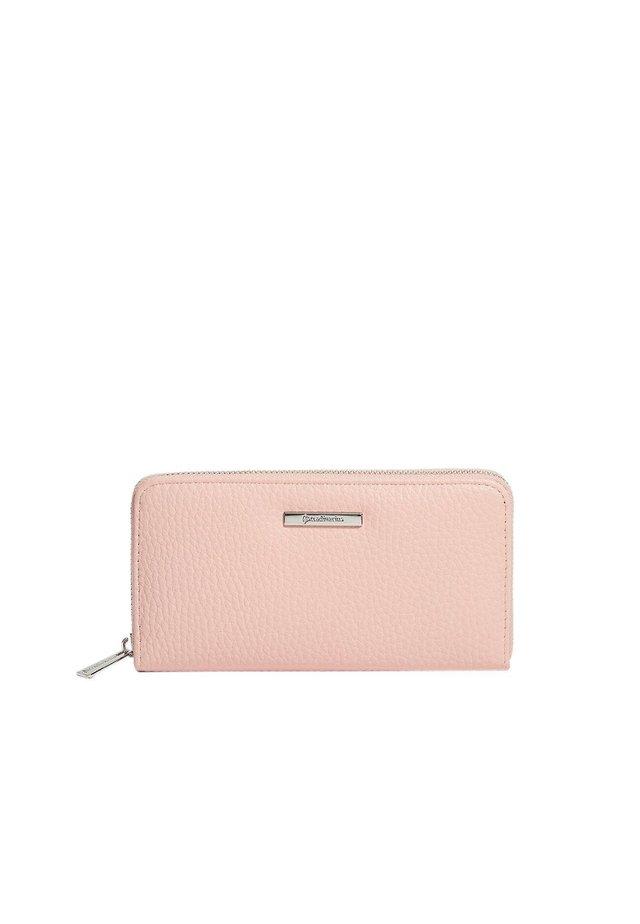 MIT REISSVERSCHLUSS - Plånbok - pink