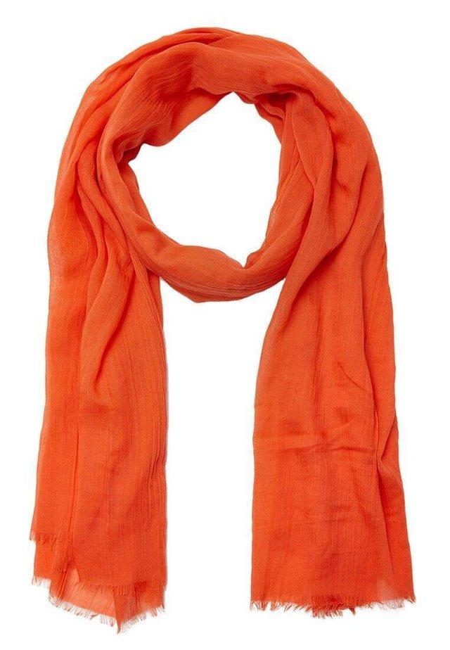 MIT BLUMENPRINT - Huivi - orange