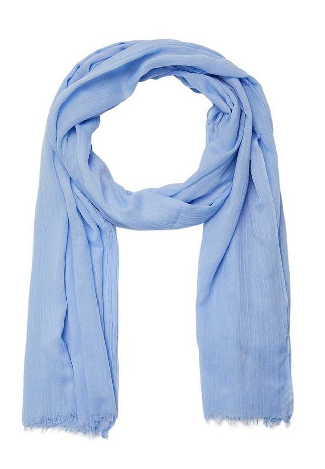 MIT BLUMENPRINT - Huivi - blue