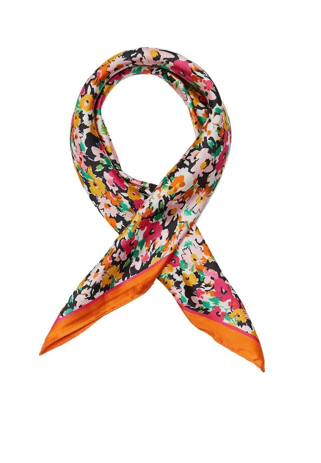 MIT LIPPENPRINT - Halsdoek - orange