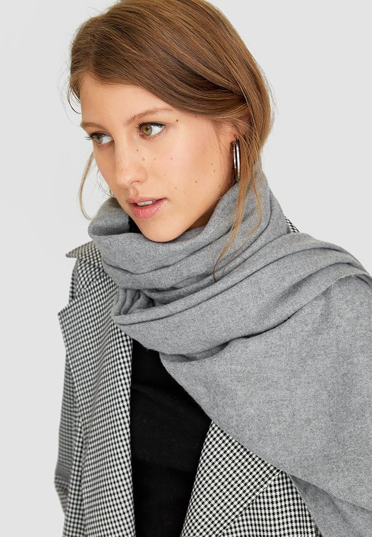 Stradivarius - SOFT-TOUCH - Sjaal - grey