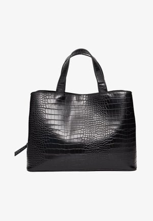 MITTELGROSSE FARBIGE TOTE-BAG 00716011 - Shopping bag - black