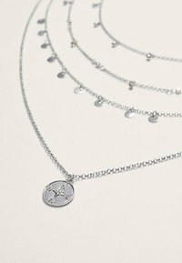 Stradivarius - 4 SET - Necklace - silver coloured - 4