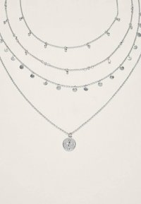 Stradivarius - 4 SET - Necklace - silver coloured - 3