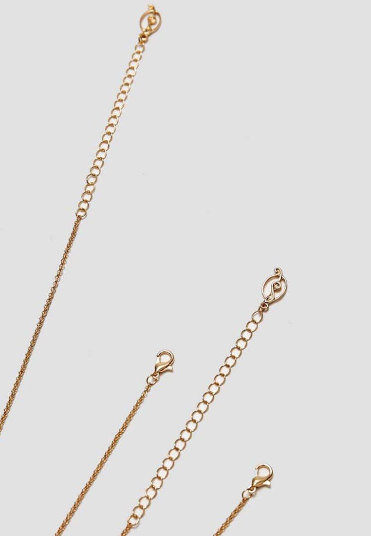 Stradivarius 4 SET - Halskæder - gold-coloured