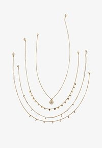 Stradivarius - 4 SET - Ketting - gold-coloured - 1