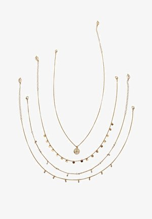 4 SET - Necklace - gold-coloured