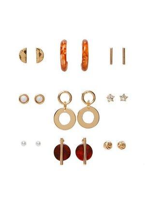 MIT NATURFARBENEN QUASTEN - Boucles d'oreilles - gold