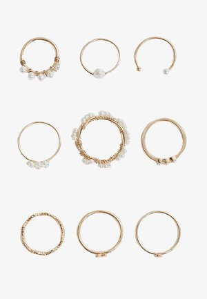 9 PACK - Ring - gold