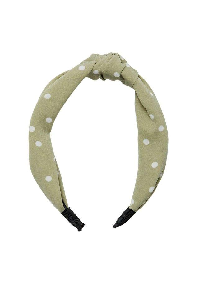 MIT TUPFEN - Hårstyling-accessories - green