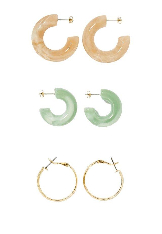 3SET - Örhänge - turquoise