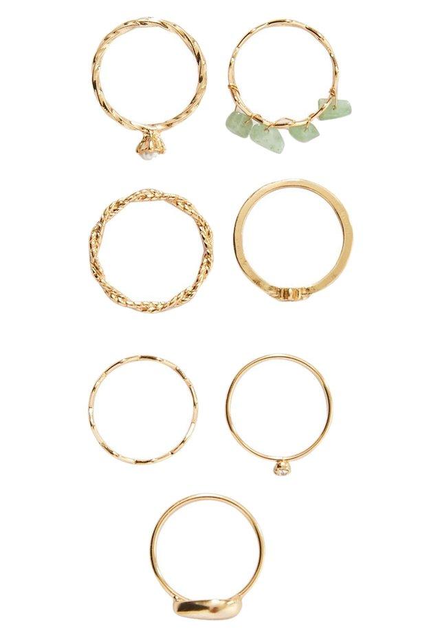 MIT MUSCHEL - Ring - gold