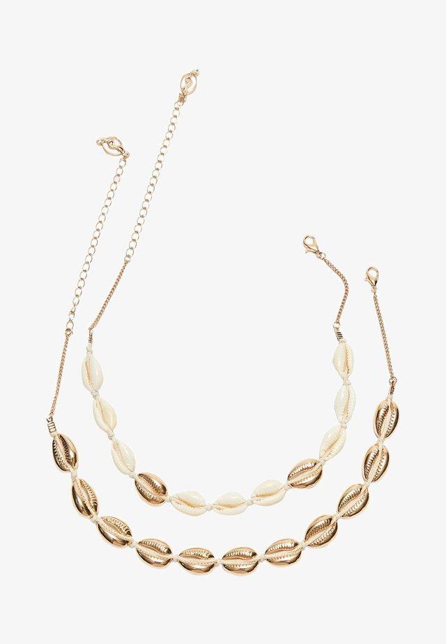 MIT MUSCHELN - Necklace - gold