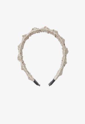 MIT TUPFEN  - Hair styling accessory - beige