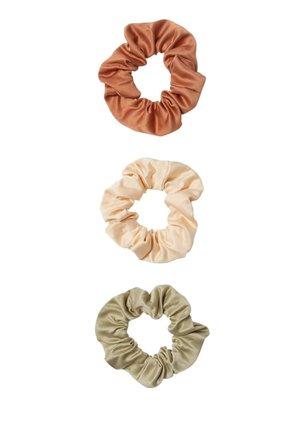3 PACK - Příslušenství kvlasovému stylingu - beige