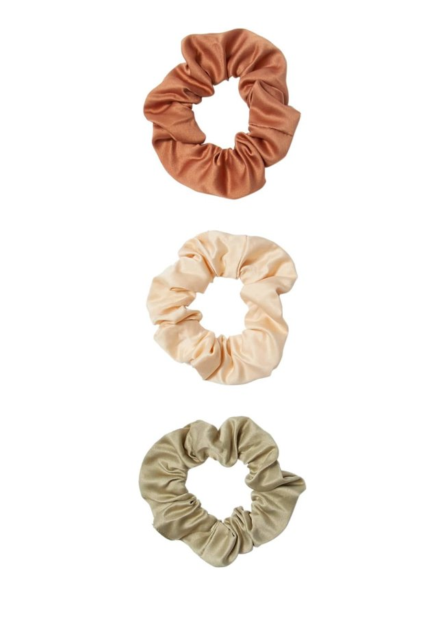 3 PACK - Hair styling accessory - beige