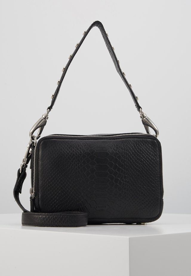ROOM CROSSBODY - Käsilaukku - black