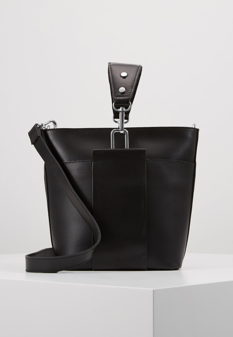 Still Nordic - APRIL BUCKET BAG - Handtasche - black