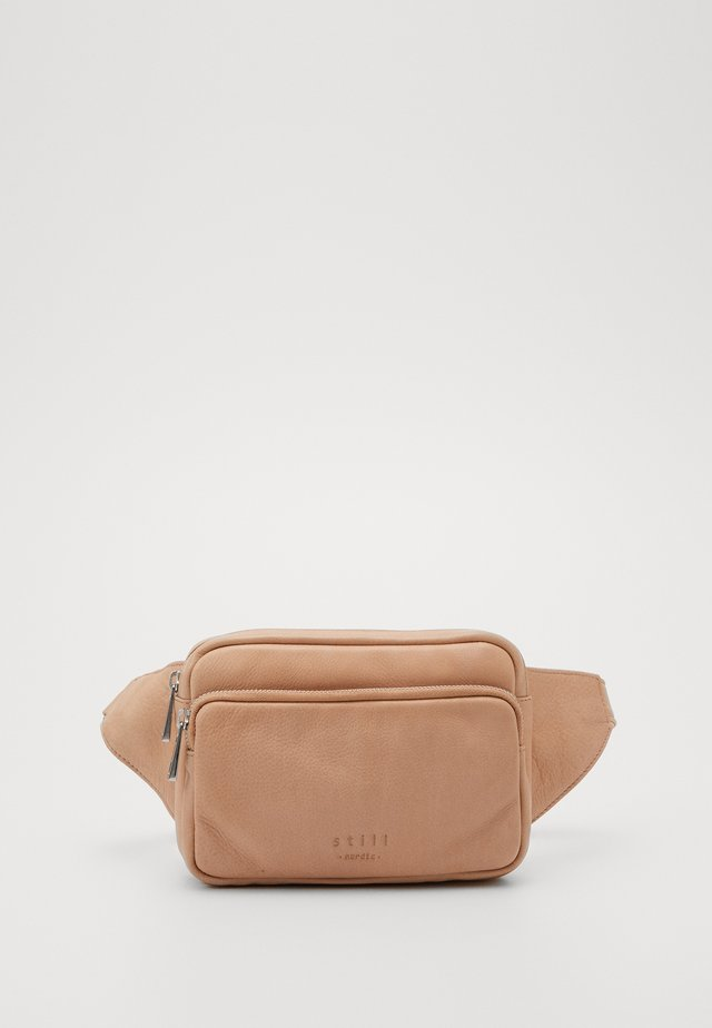 AGNES BUMBAG - Bum bag - powder