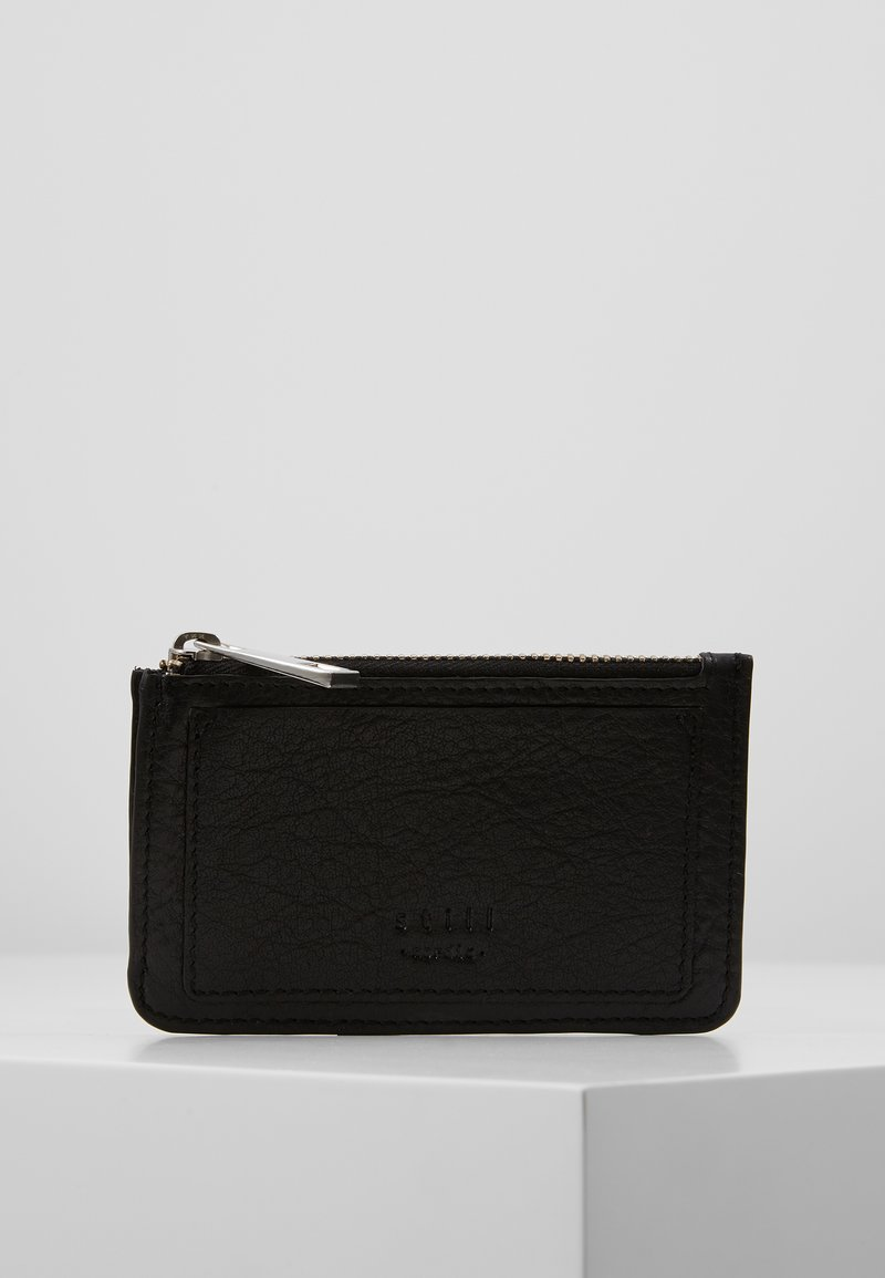 Still Nordic - THUNDER CREDIT CARD HOLDER ZIP - Pouzdro na vizitky - black