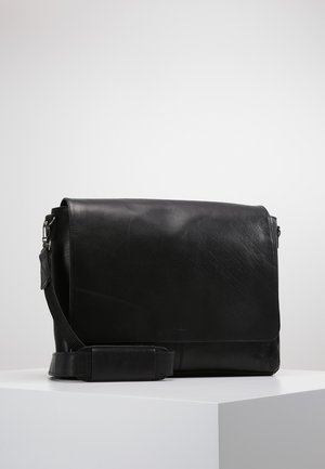 CLEAN LARGE MESSENGER - Umhängetasche - black