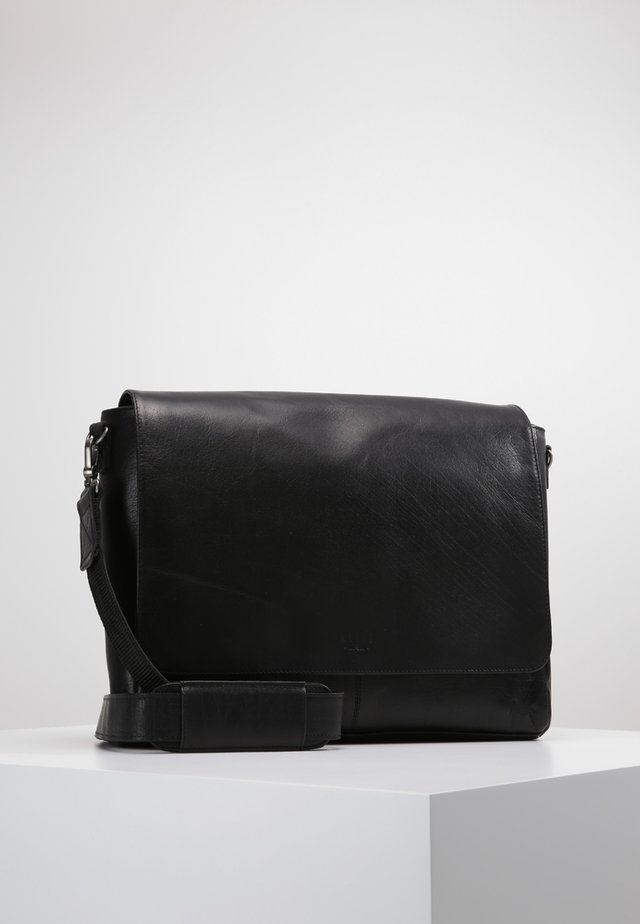 CLEAN LARGE MESSENGER - Schoudertas - black