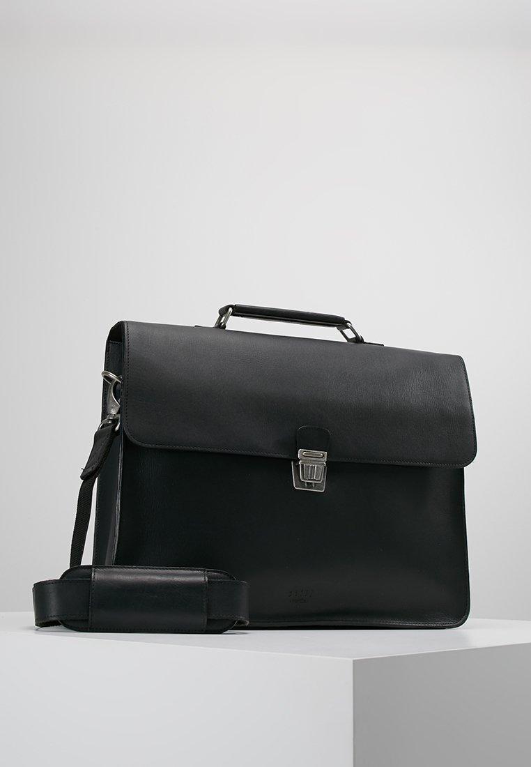 Still Nordic - LONDON BRIEF ROOM - Briefcase - black