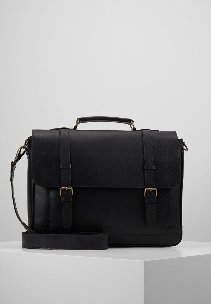 Still Nordic - SHELBY BRIEF - Briefcase - black