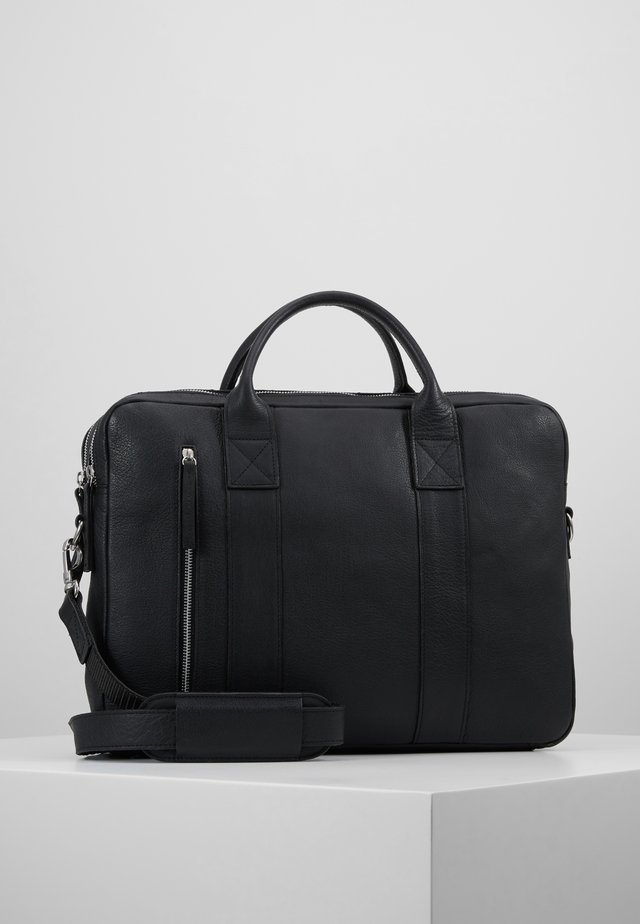 DUNDEE CLEAN BRIEF 2 ROOM - Briefcase - black