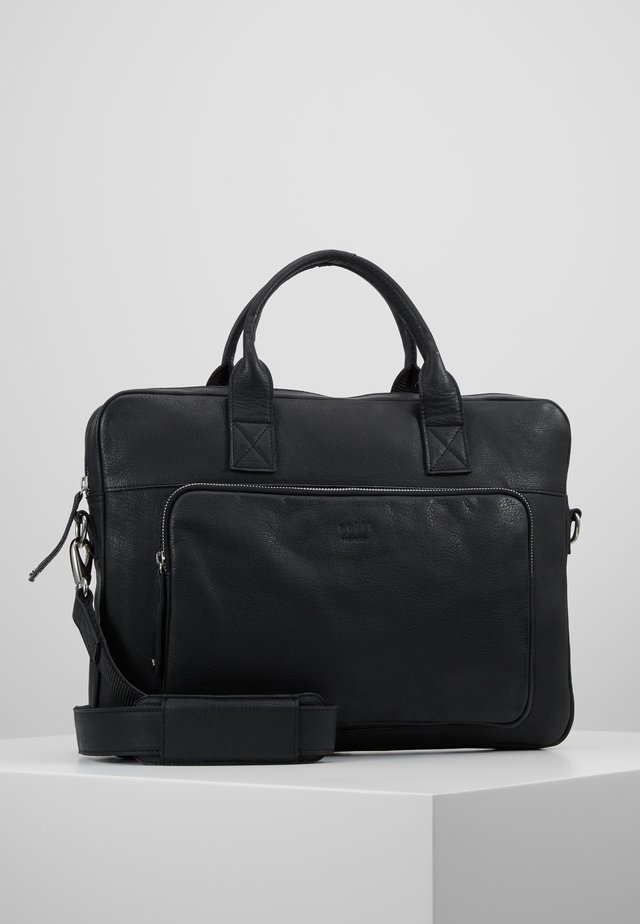 LUKE CLEAN BRIEF ONE ROOM - Briefcase - black